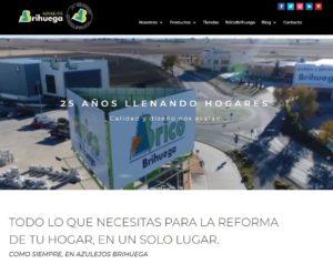 Azulejos Brihuega estrena página web en su 25 aniversario.