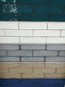Azulejos rectangulares que nunca fallan.