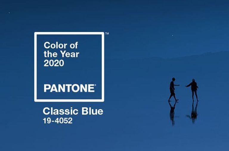 Azulejos y pavimentos inspirados por el Classic Blue