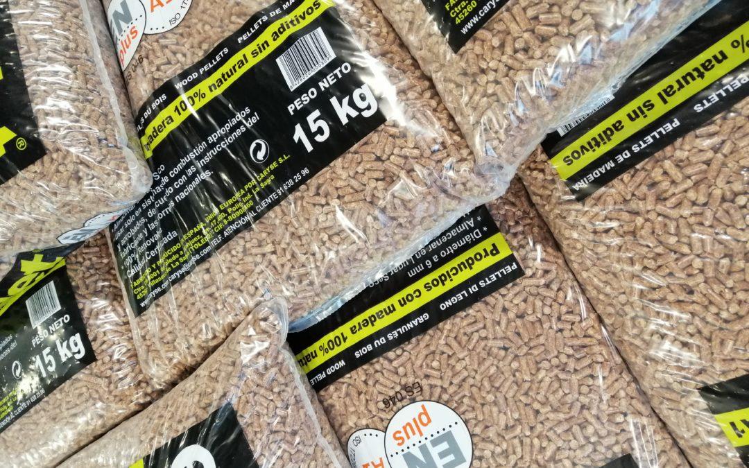 Elige pellet, elige un ahorro de hasta el 50% en calefacción