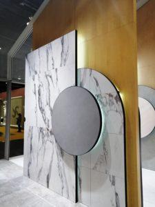 Argenta apuesta por el mármol y la madera en sus nuevas colecciones.