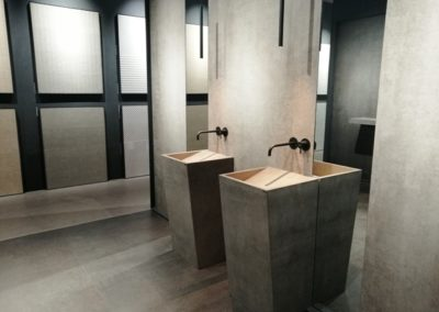 Diseño minimalista, directo y elegante. Ambiente de Azuvi.