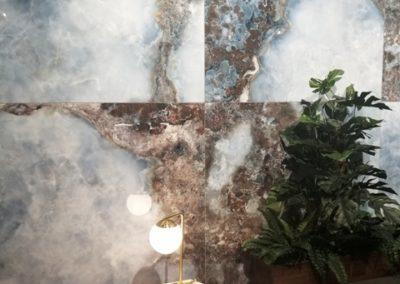 Pamesa apuesta por el mármol y los grandes formatos.