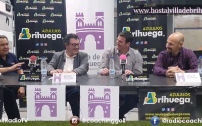 Azulejos Brihuega acoge la grabación del programa 198 de Sports And Golf