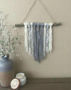 tapiz de lana diy