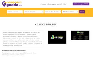 Azulejos Brihuega en el directorio compraenguada.es