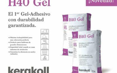 Presentación del nuevo Gel H40 de Kerakoll