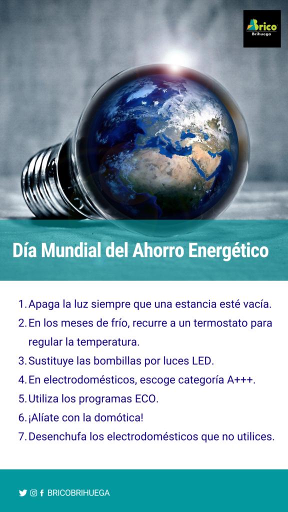 acciones para ahorrar energía