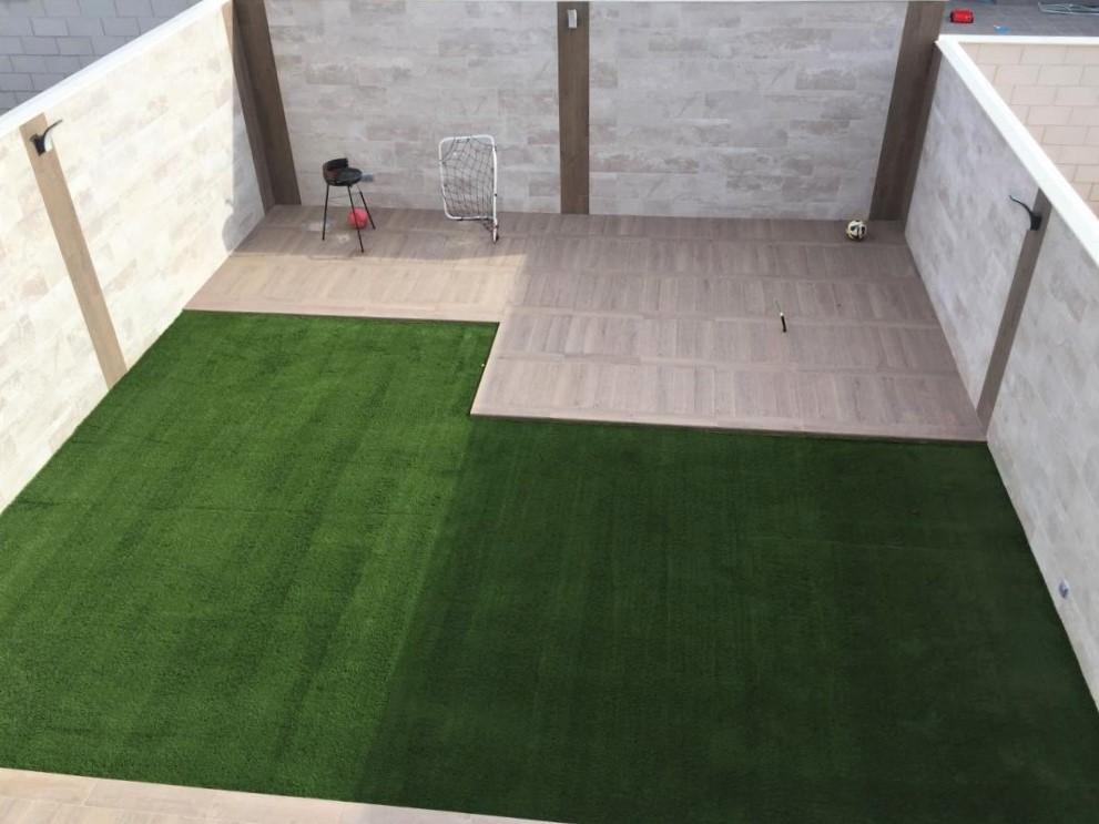 Terraza Azulejos Brihuega.